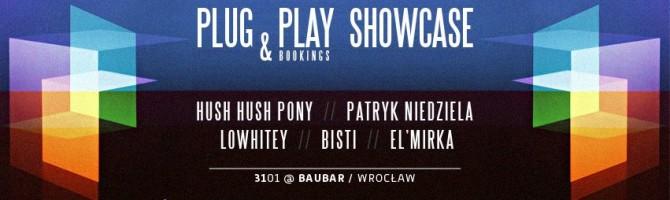 PLUG & PLAY Bookings: Pierwszy wrocławski showcase  w ostatni piątek stycznia.
